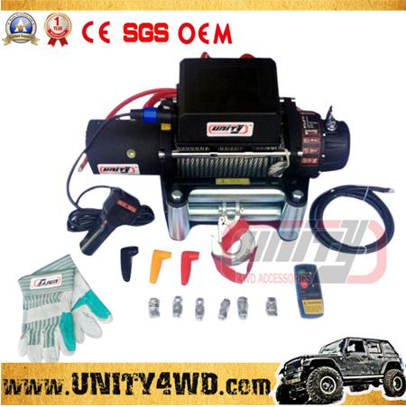 4x4 Accessories CE Approved 9500lbs electric winch