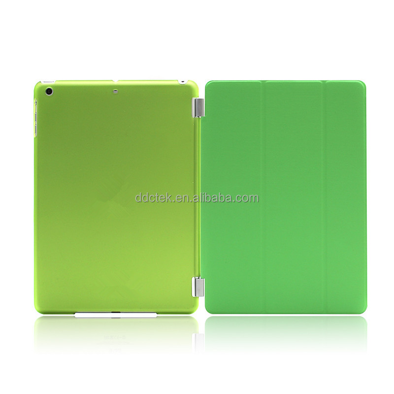 HOT selling Green PU PC cover case for ipad mini case