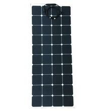 high quality sunpower cell 120w etfe flexible solar panel