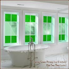 pvc&aluminum stained glass windows