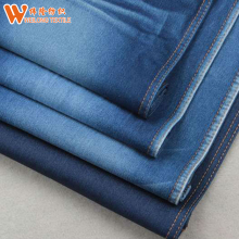 Hot sell non slub cotton/poly yarn dyed 2018 new polyster spandex denim fabric manufacturer