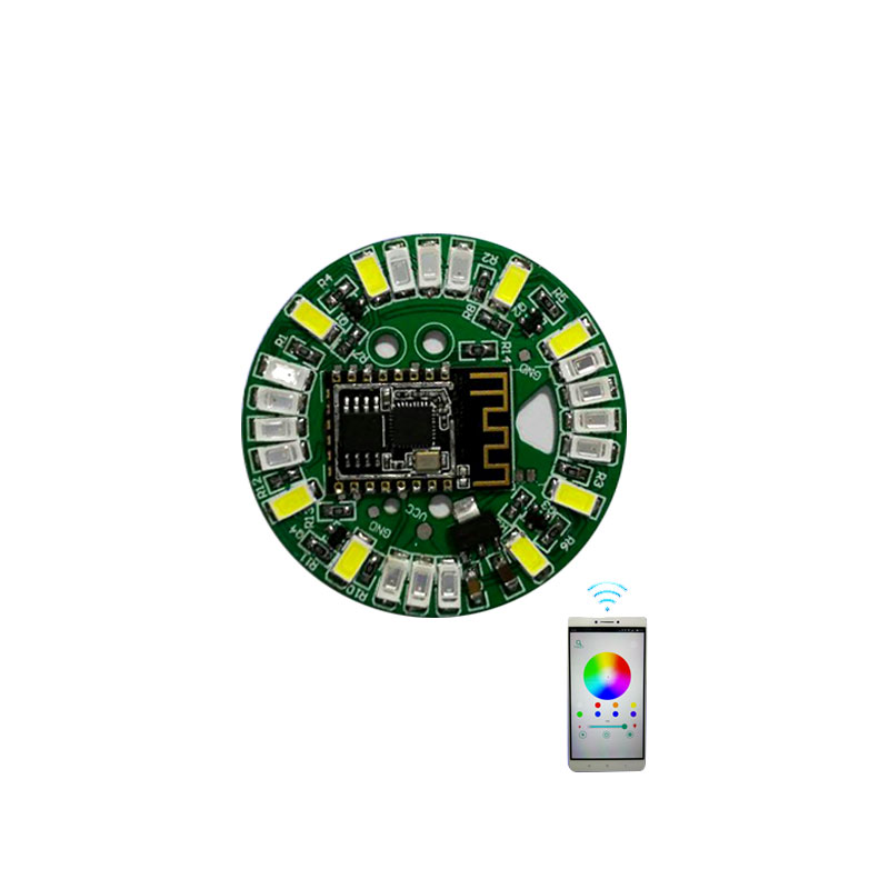 Smart Wifi RGB LED Circuit Board, Customized RGBW Wifi LED Light <strong>PCB</strong> With APP