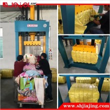 Factory Direct Sale Used clothing Baling machine, used clothes and textile compress baler machine