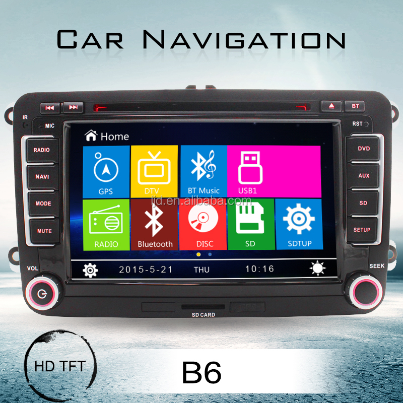 double din car dvd player autoradio navigation for vw polo