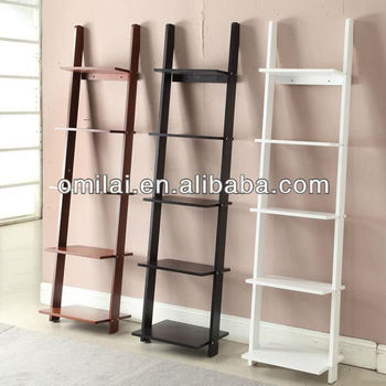 home MDF Ladder bookshelf