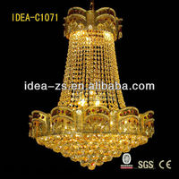 C1071 hotel hall bed dining room pendant lamp lights chandelier