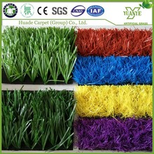 Chinese synthetic grass turf cheap pink blue artificial grass