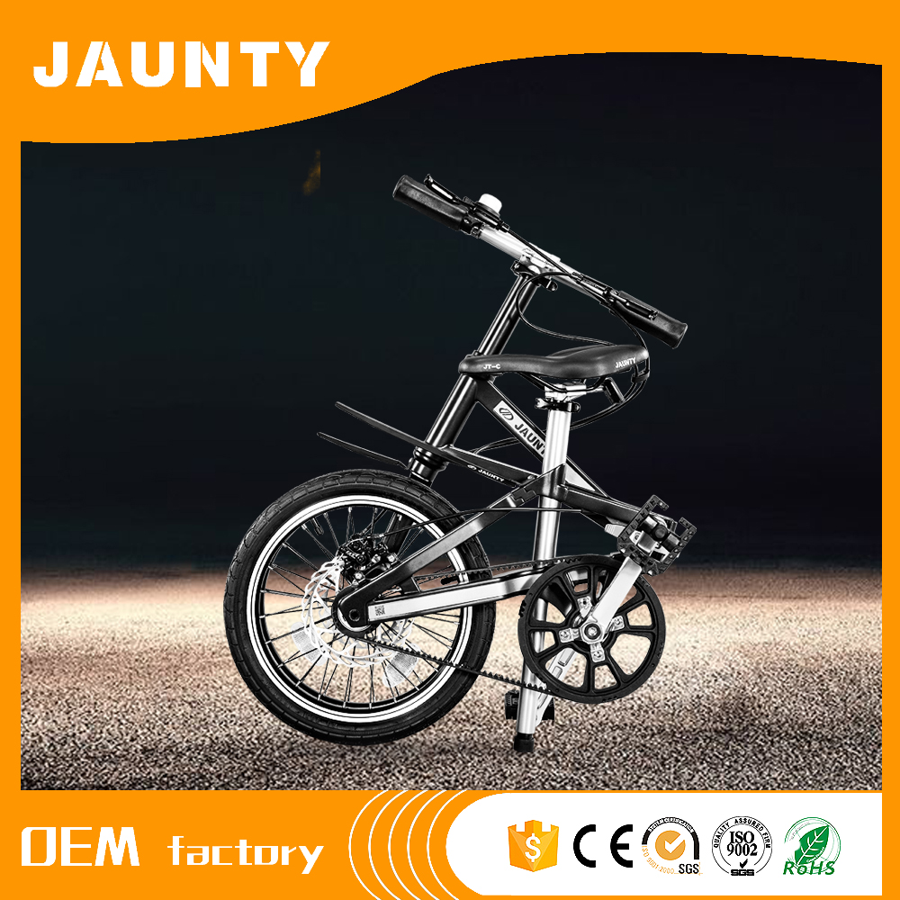 Newest 16-inch high carbon folding bike For Family Use