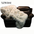 CX-D-122 High Quality China Factory Luxury Fur Fox Blanket
