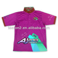 sublimation custom made latest design polo shirt of sex men