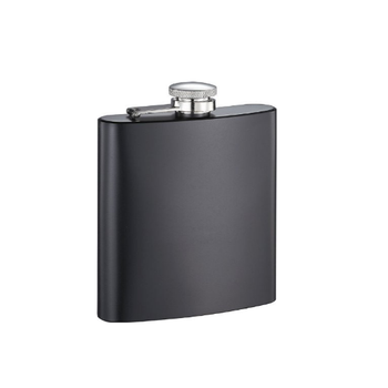 High Quality Black Hip Flask with Custom Logo