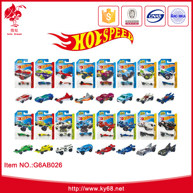Hot item 36 designs mixed free wheels die cast car model