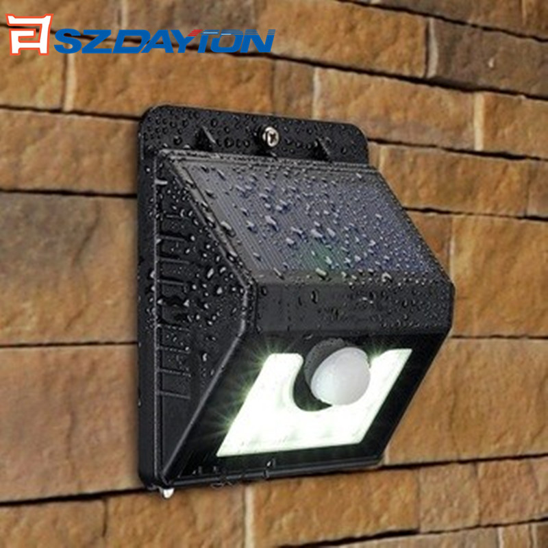 Amazon Hot Sale 20 LEDs Solar Motion Sensor Light Solar Camping Light for Garden