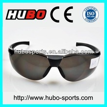 China grey lens popular dust proof safety glasses with CE&ANSI