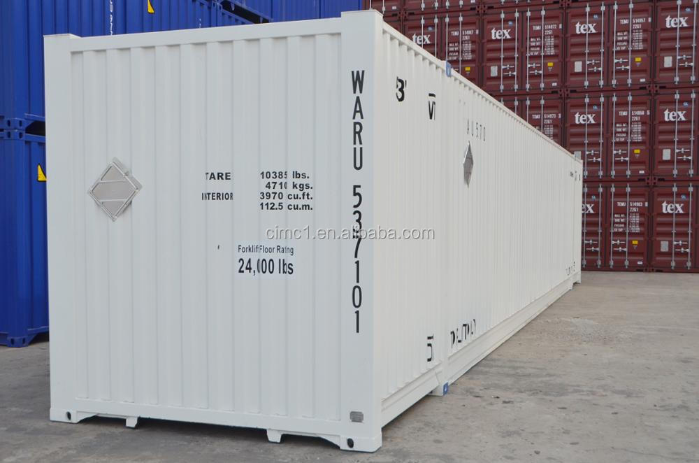 new 53ft steel shipping container ISO certificated