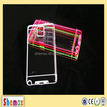 New 2 in 1 fancy clear cover case for samsung galaxy note 4,For samsung note 4 case