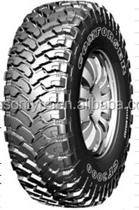 Car tire buy direct from china 33/12.5-15 mud terrain tire