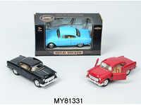 new arrivel pull back die cast car models(6 styles classic model car )for enjoy playing