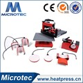 Microtec wholesale high quality Combo Swing Transfer Heat Press Machine Price