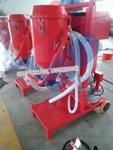 workshop selling abc dry powder fire extinguisher filling machine, refilling machine