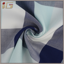 Good price of fashionable classic customize plaid pattern 100 tencel fabric