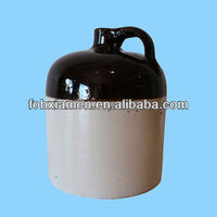 Hot handmade whiskey cooler ceramic jugs