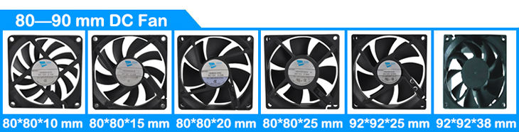 120mm case fan 120x120x25mm dc brushless fan 12v 48v