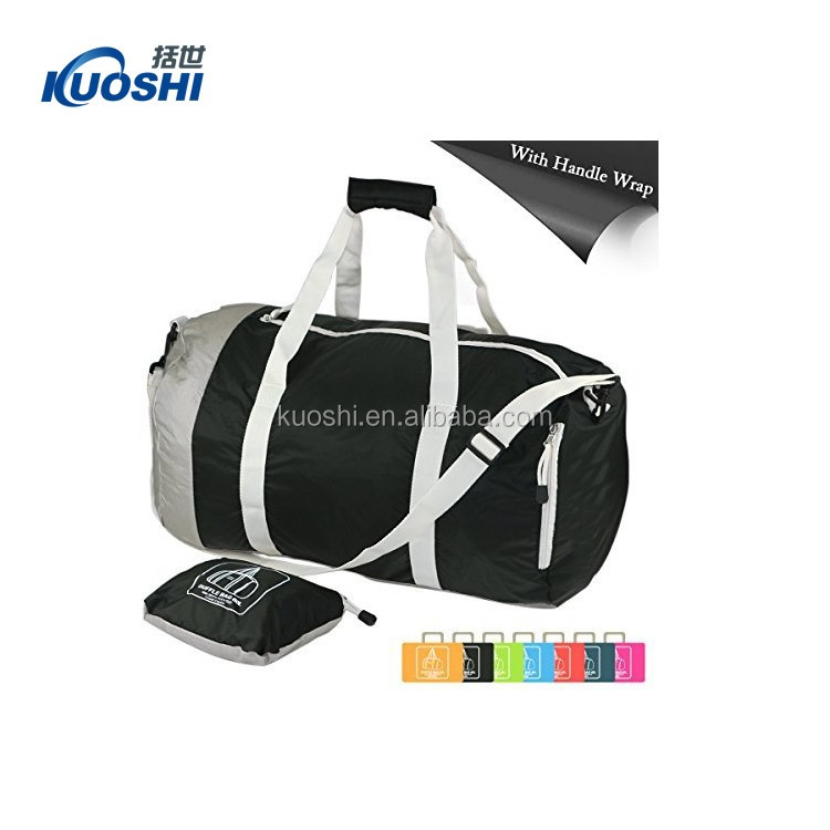 foldable travel duffel bag customized