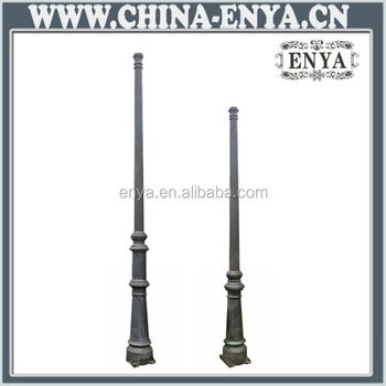 Cast iron outdoor lamp post buy cast iron outdoor lamp for Lampadaire exterieur fonte