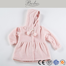 High Quality Comfortable Flannel Coat for Babies
