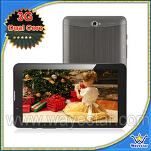 7 inch built-in 3G phone call tablet pc MTK6577 1.2GHz dual core tablets 3G WCDMA+ GSM 4 band