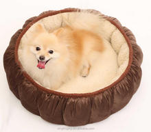 safe material 100% pp cotton memory foam dog bed luxury pet dog house factory