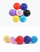 Silicone wireless portable sucker mini bluetooth speaker JL-200T