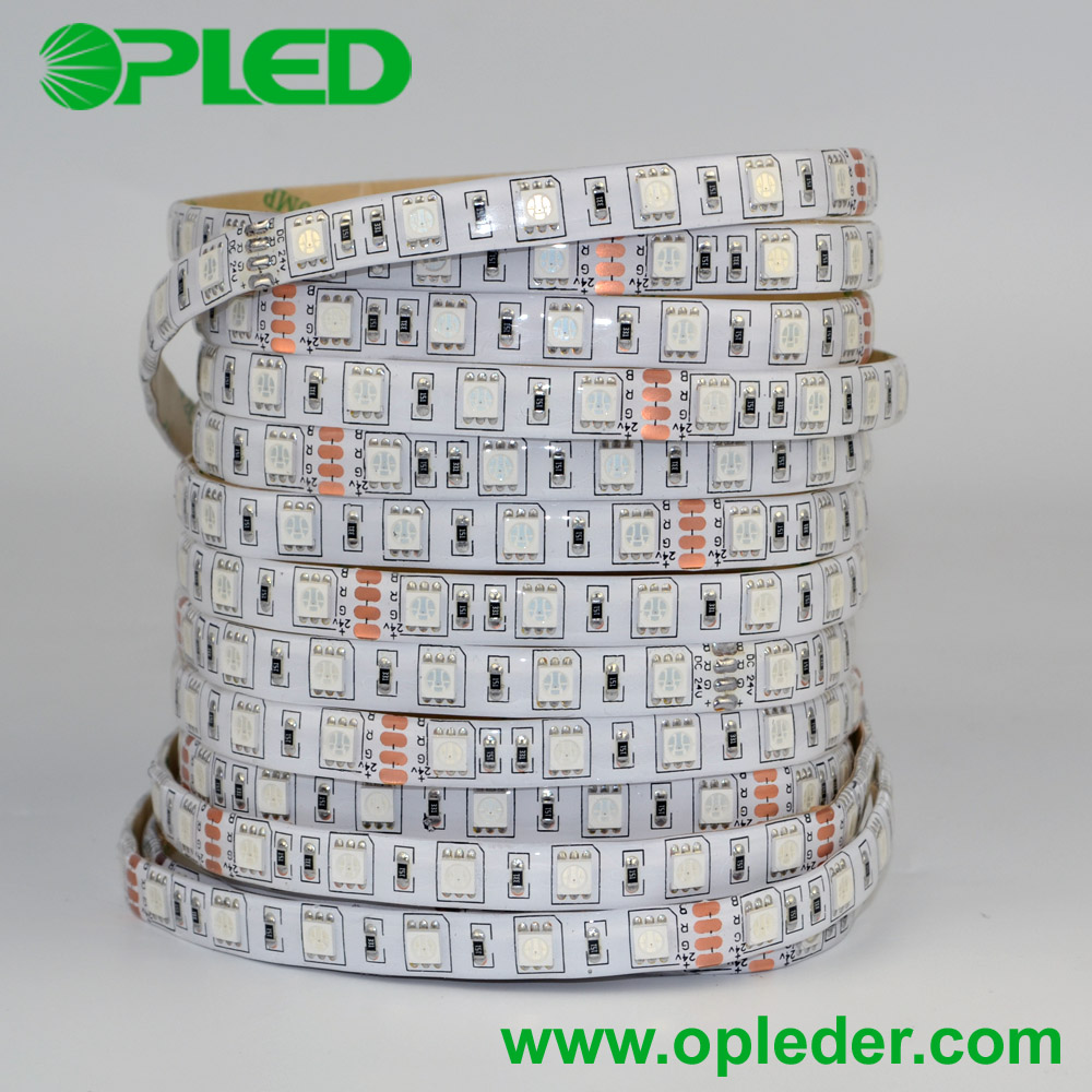 IP65 DC12V/DC24V 5050 RGB LED strip light