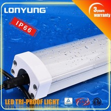 Factory Direct sale !! IP65 Tri-proof LED Light 50w 60w lamp tube 1500mm 5foot outdoor parking garage led flood light 100w