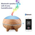 Bluetooth speaker electric essential oil diffuser for office,home,baby room