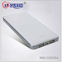 External Battery 12000mAh Charger Power Bank Case For iPhone 5 4G 4s /iPad 2 3