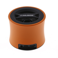 Professional Wireless Portable Mini Bluetooth Speaker with Enhanced Bass Resonator and Rechargeable Battery