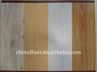 Locking laminated wooden flooring