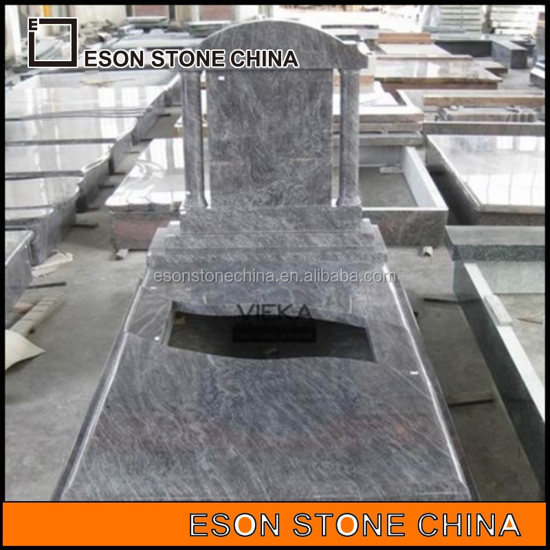 Eson Stone chinese shanxi black granites monument for european with good sales