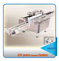 Paper glue and paste automatic plastic bottle labeling machine