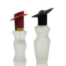 Best selling glass cosmetic packaging 10ml perfume bottle / woman body shape perfume bottle with cap