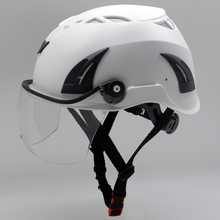 European style safety helmet with EN 177 Visor