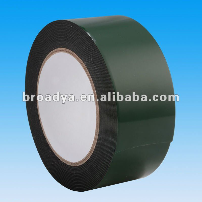 Double sided rubber insulation foam tape