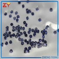 Small Size Round Dark Blue Corundum Price Per Carat