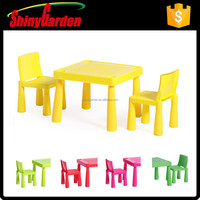 hotsale coloring children child kids KD plastic table and chair set