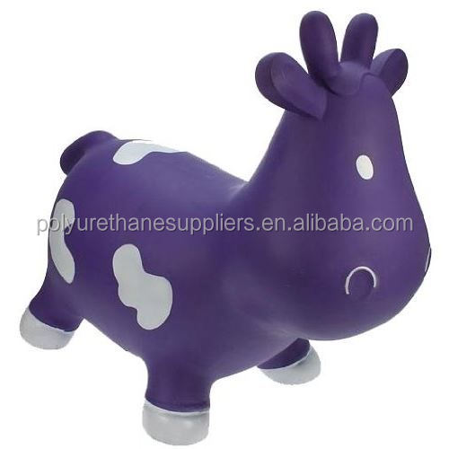 pro-environment PU polyurethane foam balance training childrens' toys purple cow