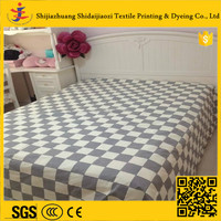 China wholesale 100% cotton printed bedding set fabric