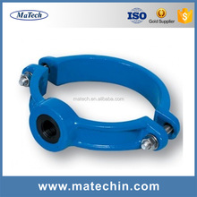 Factory Customized High Precise Free Tube Cast Iron Pipe Clamp