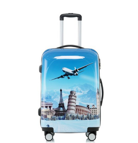 BEIBYE Cheap ABS+PC Luggage trolley case/bag